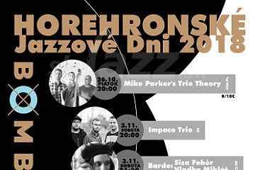 Brezno – Horehronské Jazzové Dni 2018 !!!