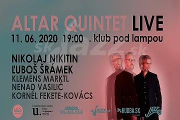 Koncertná premiéra CD Altar Double Quintet !!!