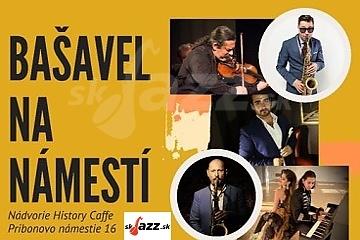 5X Gypsy Jazz na námestí v Prievidzi !!!