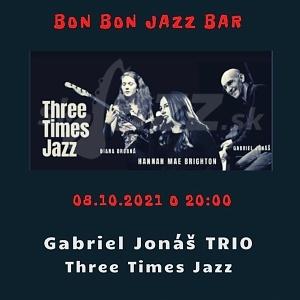 BA: Bon Bon Jazz Bar - Gabo Jonáš Trio !!!