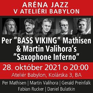 BA: Aréna Jazz v Ateliéri Babylon - október !!!