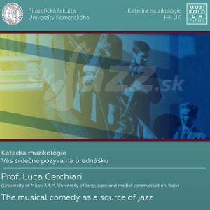 Jazzové prednášky prof. Luca Cerchiariho v BA !!!