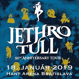 Jethro Tull oslávi 50 rokov v Bratislave !!!