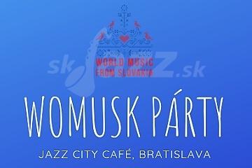 WOMUSK pokrstí novú kompiláciu Best of World Music from Slovakia !!!