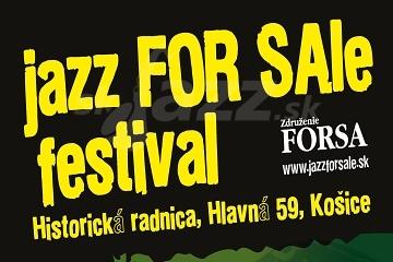Košice: Jazz For Sale - 3.sobota !!!