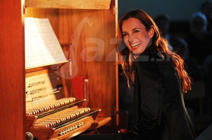 Organistka Barbara Dennerlein !!!