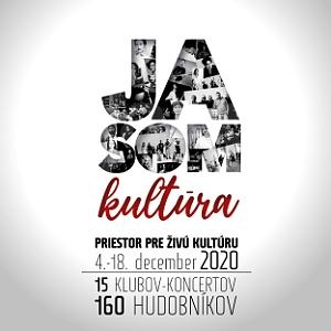 Prichádza iniciatíva Ja som kultúra s projektom Priestor pre živú kultúru !!!
