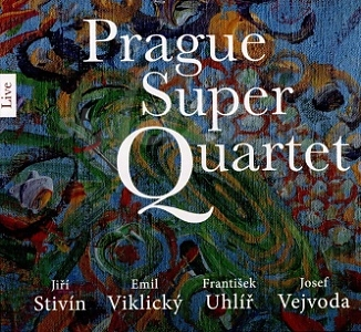 CD Prague Super Quartet - Live