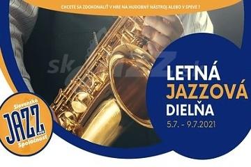 Letná jazzová dielňa v júli 2021 !!!