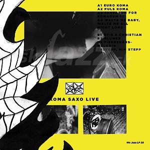 CD / LP Koma Saxo – Live