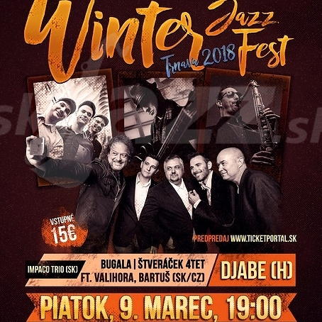 Winter JazzFest Trnava 2018 - sloboda, radosť a pohoda !!!