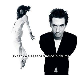 CD Ania Rybacka & Stefan Pasborg – Voice 'N' Drums